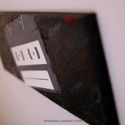 Shane Walters Art Tape Cassette Painting 11 0597