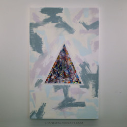 Shane Walters Art Triangle Painting 13 0444