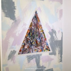 Shane Walters Art Triangle Painting 13 0449