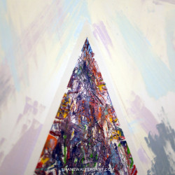 Shane Walters Art Triangle Oil Painting 13 0451