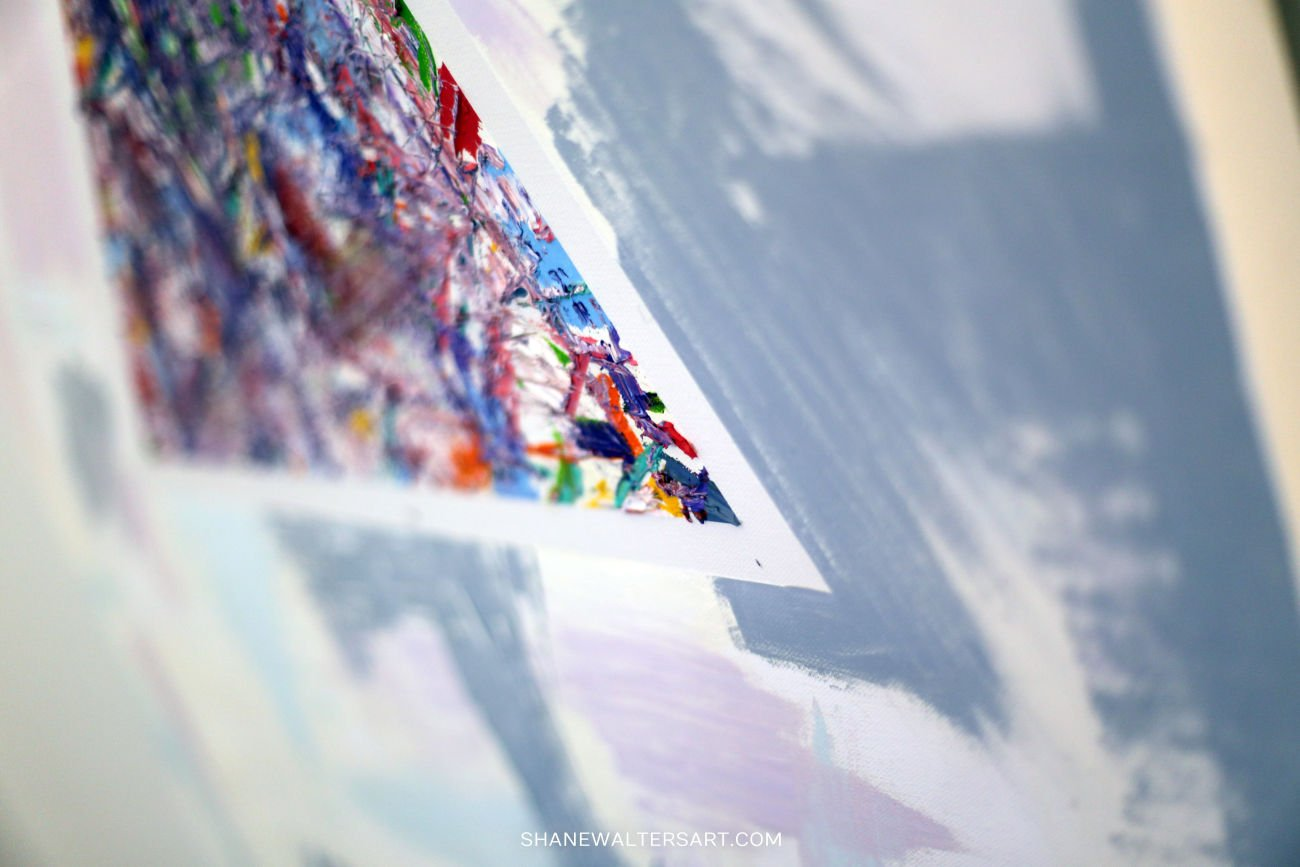 Shane Walters Art Triangle Painting 13 0629