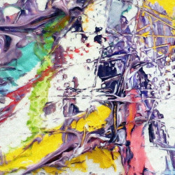 Shane Walters Art Triangle Painting Close Up Detail 13 0451