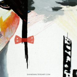 Shane Walters Art Futuristic Babydoll Painting 4227