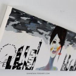 Shane Walters Art Futuristic Human Oil Painting 4217