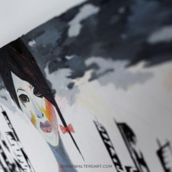 Shane Walters Art Futuristic Unisex Painting 4245