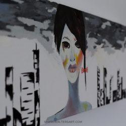 Shane Walters Art Modern Futuristic Human Painting 4202