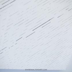 White Minimalism Canvas Painting Shane Walters 4313