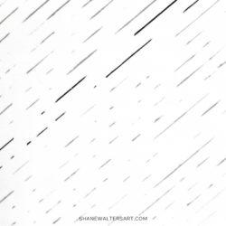White Minimalist Line Painting Shane Walters 4269