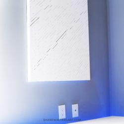 White Modern Minimalism Painting Shane Walters 4586